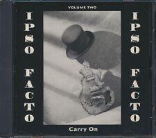 CD Ipso Facto - Carry On Volume 2