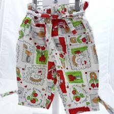 Sergent Major pantalon blanc motif jardinage bébé fille 6 mois