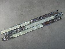 GLASS BRICK STYLE INTERLOCKING BORDERS - ICE & COCOA MIX  - 30cm x 5cm x 8mm