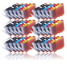 30 Tinte Patronen für CANON MG5200 MG5100 MG5250 MG5150 MIT CHIP