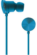Nixon Wire In-Ear 3-Button Mic 8mm Headphones (Blue)