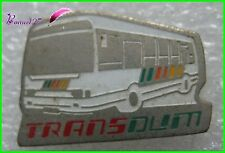 Pin's Transport en commun Bus Car TRANS DUM  #651