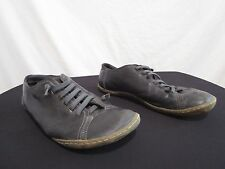 Camper Peu Black Leather Oxford Sneakers Shoes Womens Shoes Sz 40 EU/10 US