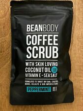 Bean Body Coffee Scrub peppermint 220g With Coconut Oil natural - no nasties