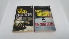Steve Mosby (lot 2 tomes : + ceux qu'on aime + Un sur deux) - Points