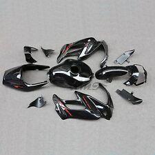 Black ABS Fairing Bodywork Set For Honda VTR1000F SuperHawk 1997-2005 98 00 04