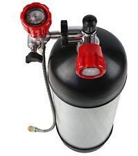 PCP Compressor 9L 30Mpa 4500Psi Tank Diving Carbon Fiber Air Cylinder Full Set