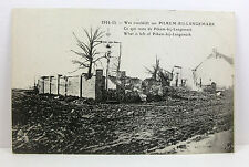POSTCARD: What is left of PILKEM BIJ LANGEMARK, Belgium; WWI 1914-14 Campaign