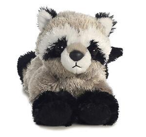 "8"" Mini Flopsie 8"" Rascal Mini Flopsie Racoon Soft Stuffed Animal Plush"