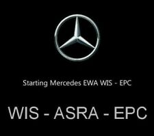 ✔️Mercedes Benz & AMG 2018 EPC WIS ASRA  Deutsche Version-Vorinstalliert DVD Set