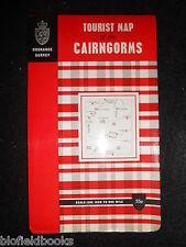 """Vintage Ordnance Survey Scotland 1"""" Map - The Cairngorms Tourist Map c1972"""
