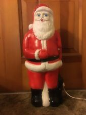 Antique Santa Claus Blow Mold Light up