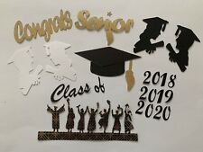 SCRAPBOOK DIE CUT EMBELLISHMENTS BUNDLE FOR GRADUATION THEME