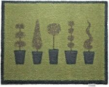 Genuine Hug Rug Indoor Mat Dirt Trapper Country Topiary 20  85 x 65 cm