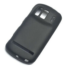 For Nokia 808 PureView Black Matte Rubber Gel skin Case Cover