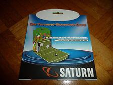 Saturn  Gutscheincard Torwand NEU!