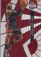 2012-13 Panini Past and Present Treads #6 LeBron James - NM-MT