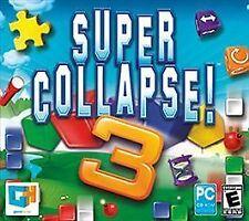 Super Collapse 3 Jewel Case (PC, 2011)
