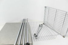 Seville Classics Stainless Steel Professional Kitchen Work Table Nsf Certified