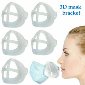 10PCS 3D Face Mask Mouth Cover Bracket Inner Stand Holder Support Frame Washable
