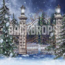 10X10 COMPUTER PRINTED CHRISTMAS  BACKDROP/BACKGROUND/BANNER