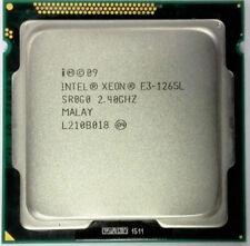 Intel-Xeon-E3 1265L 2.4GHz Quad Core CPU SR0G0 LGA1155 Gen8 Tested Processer cpu