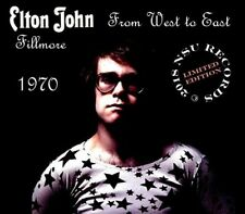 "ELTON JOHN  LIVE FILLMORE ""FROM WEST TO EAST"" 1971 NOVEMBER 12-13-21 LTD 3 CD"