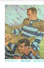 1973 Prudential  Print, Lionel Conacher's First Grey Cup WIn, Dec 3 1921