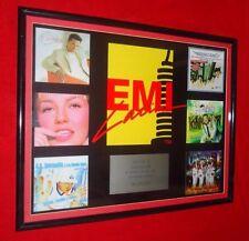 EMI Latin Framed Music Award Oscar De La Hoya  - A.B. Quintanilla - Thalia -Rare