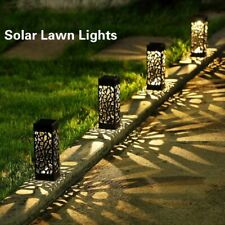 8Pcs Solar Light Decoration Garden Outdoor Waterproof Pathway Led Landscape Lamp