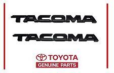 Genuine Toyota Tacoma TRD Pro Flat Black Emblem Emblems  OEM OE
