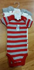 Just One You by Carter's Boys 3 Short-Sleeve Bodysuits *NWT* Newborn