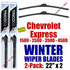WINTER Wipers 2-Pack Premium Grade - fit 1996-2014 Chevrolet Express - 35220x2