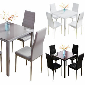 75cm Glass Dining Table 2-4 Seat NO Chair Apartment Space Saving kitchen Table
