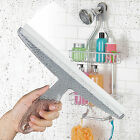 Bathroom Shower Squeegee Clear Acrylic Glass Wall Cleaner Bath