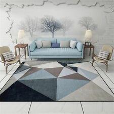 Living Room Carpet Soft Comfortable Rugs Home Bedroom Durable Floor Mats Modern