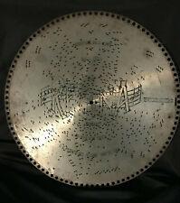 "Regina Music Box Disc ""Amaryllis Valse Lente"" Seger 10254 15 1/2"" Metal"