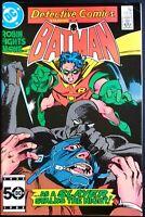 DETECTIVE COMICS Issue #557 FN BATMAN 1985 NOCTURNA NIGHT-SLAYER