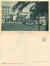 Cartolina di Sestri Levante, piazza Sant'Antonio - Genova