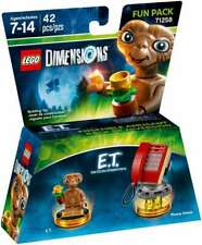 LEGO DIMENSIONS FUN PACK 71258 E.T. EXTRA TERRESTRIAL RED PHONE NEW LA028