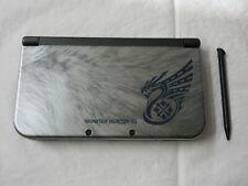 D381 Nintendo new 3DS LL XL console Monster Hunter 4G model Japan w/stylus pen