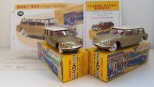 Dinky Toys Atlas - Lot de 2 Citroën ID 19 break (GB et NL)