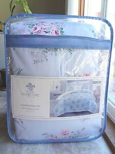 Simply Shabby Chic Full/Queen Bouquet Rose 4-Piece Comforter Set (Free Shipping)