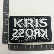 Vtg Nos 1990s Retro Classic Hip Hop Music Duo Kris Kross Patch (Mac Daddy) 00Yg