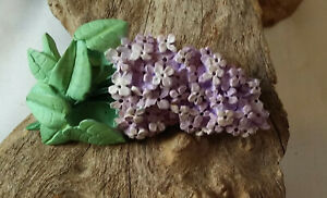 Lilac Flower Pin Brooch