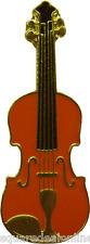 47086 Fiddle ENAMEL PIN Badge Button Lapel Music Instrument Bluegrass Folk