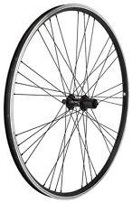 Mach 1 EXE 700c Black Rear 135mm Hybrid Bike Wheel Doublewall Shimano SS Spoke