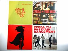 ~ LOT Collector - Port 0€ ~ ZEBDA : 4 CD *dont Toulouse ASIAN DUB FOUNDATION rmx
