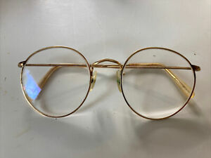 Brille ALGHA Gold 12 KT - MADE in ENGLAND