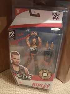 Rhea Ripley The Nightmare Autograph Signed WWE Elite 84 Figure JSA MM33980